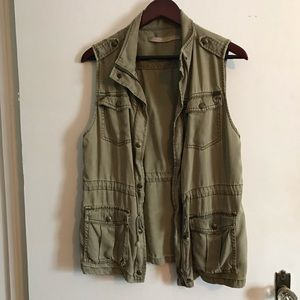 Max Jeans Army Vest